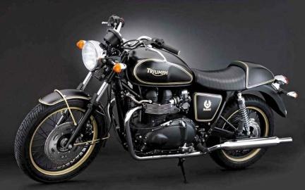 Мотоцикл Bonneville Belstaff  с автографом Юэна МакГрегора